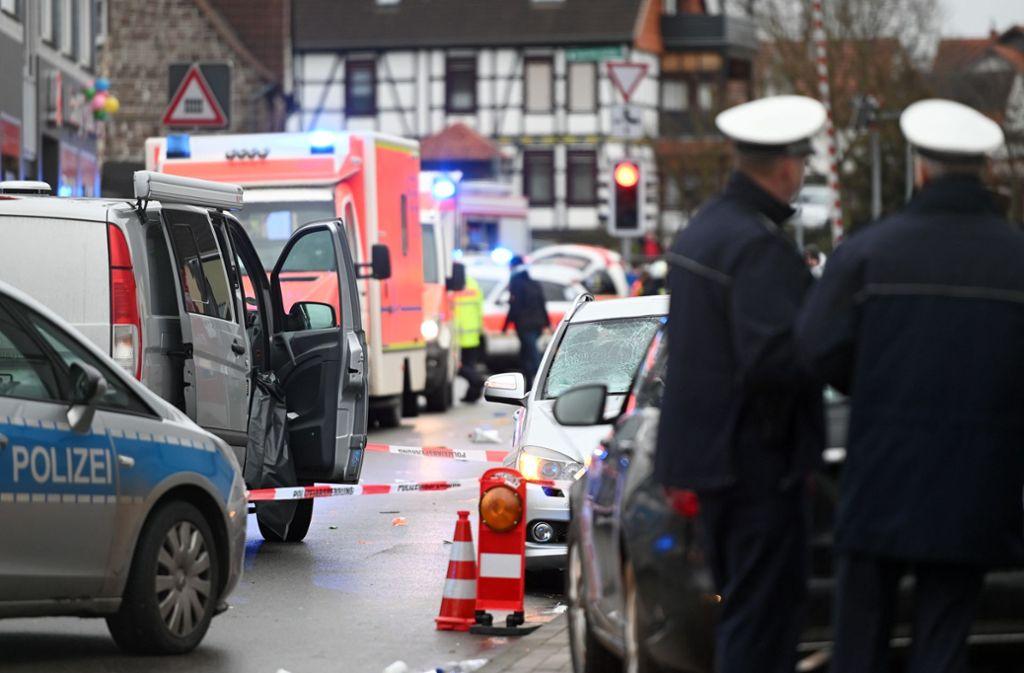 Was in Volkmarsen geschah, wird bei der Planung des Polizeieinsatzes rund um den Stuttgarter Faschingsumzug berüchsichtigt. Foto: dpa
