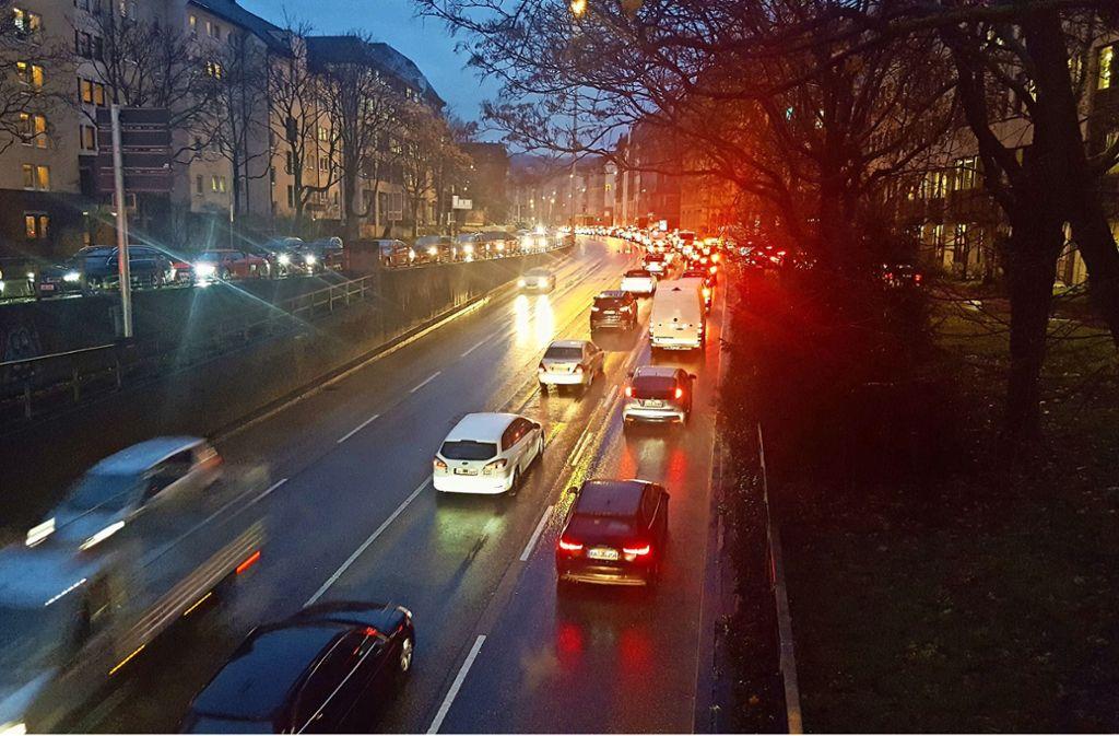 An der Hauptstätter Straße ist der Süden mit am lautesten. Foto: Kathrin Wesely