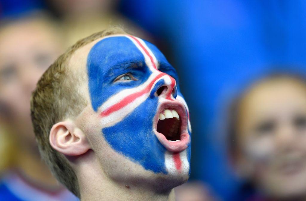 Island bei der Fußball-EM ist eine einzige Freude. Foto: Getty Images Europe