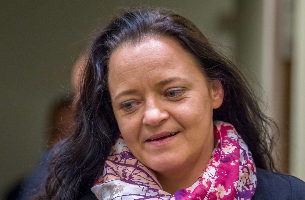 2018 war Beate Zschäpe als Rechtsterroristin verurteilt worden. (Archivbild) Foto: dpa/Peter Kneffel