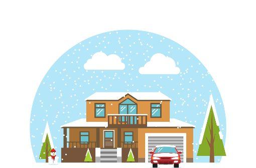 Acht Tipps für ein winterfestes Zuhause