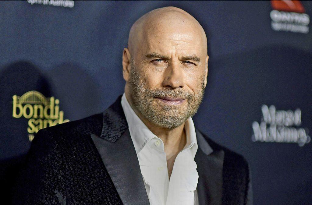Lappen drüber und fertig: John Travolta spart jetzt viel Zeit im Bad Foto: dpa