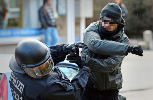 Die Gewalt gegen Polizisten nimmt zu