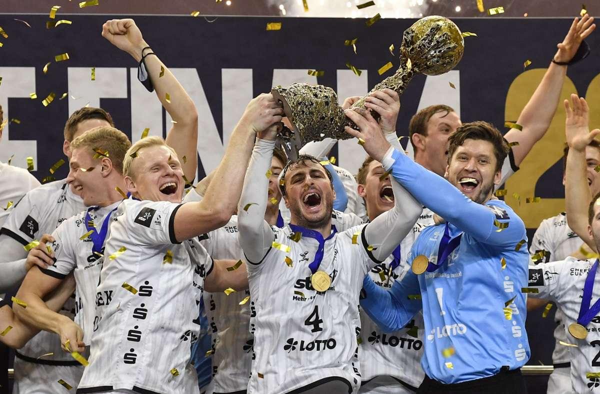 Der THW Kiel gewann am Dienstag die Champions League. Foto: AP/Martin Meissner