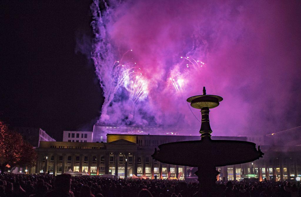 Ein Feuerwerk für alle, statt jeder für sich Foto: 7aktuell.de   Andreas Friedrichs