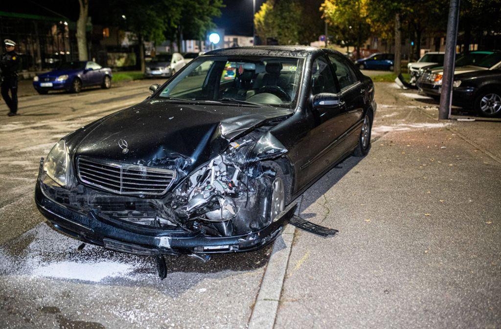 In Schorndorf hat ein 16-Jähriger einen Unfall verursacht – betrunken, am Steuer eines Mercedes. Foto: 7aktuell.de/Simon Adomat/www.7aktuell.de/Simon Adomat