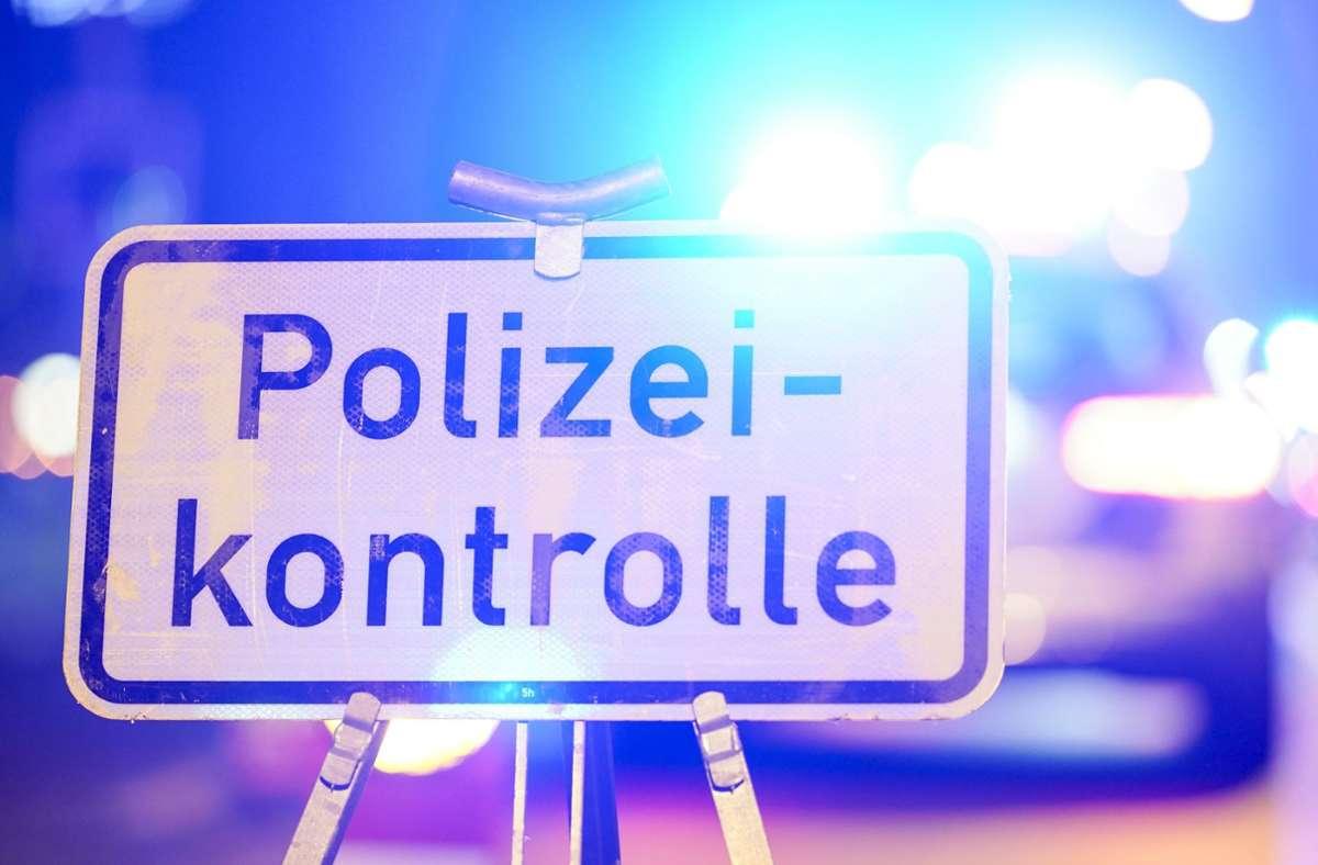 Bei der Kontrolle erwischte die Polizei viele Verkehrssünder. (Symbolbild) Foto: dpa/Uwe Anspach