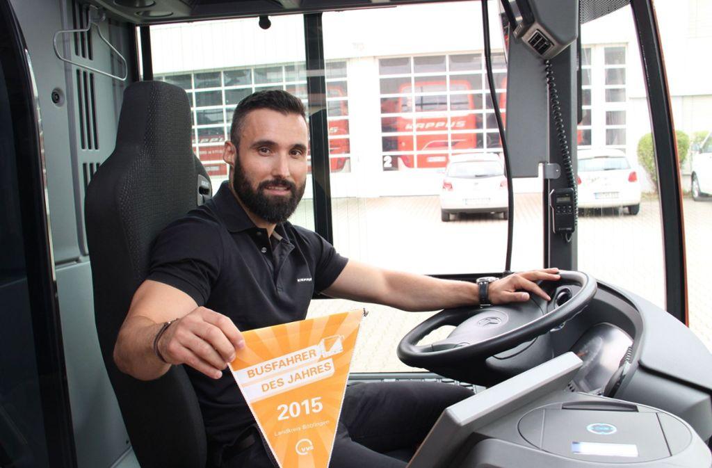 Der Leonberger Ionais Tsotsis war auch schon Busfahrer des Jahres. Foto: privat