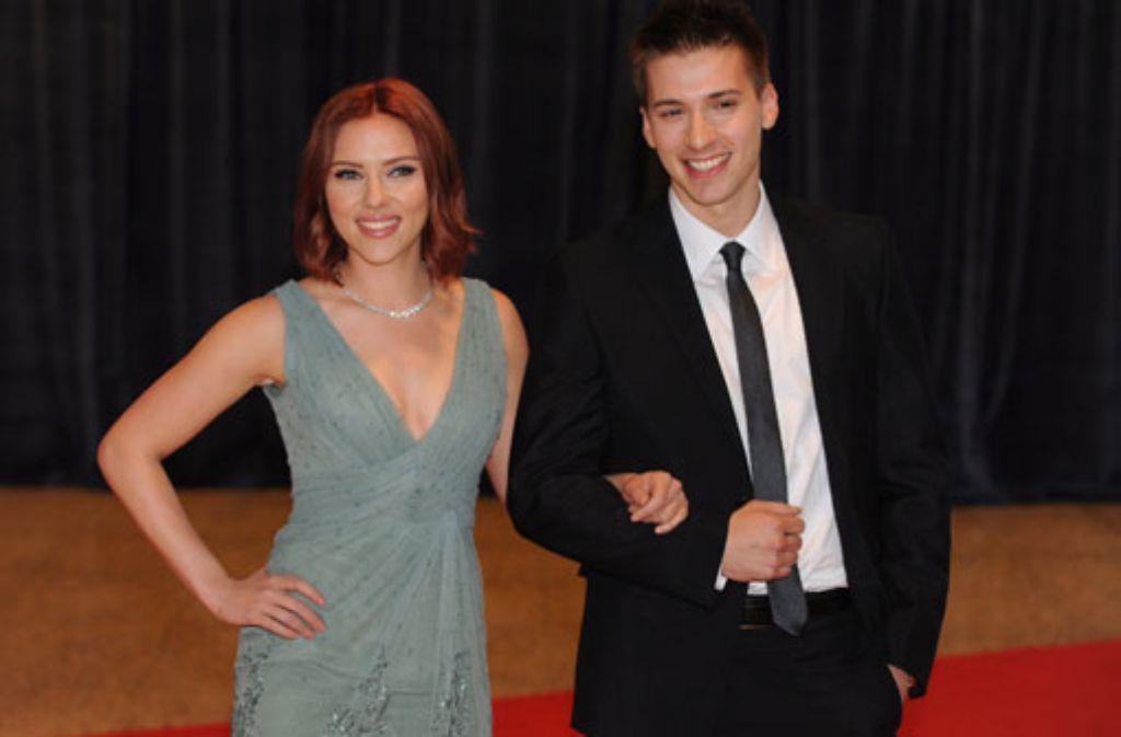 Showbiz-Zwillinge: Scarlett Johansson und ihr Zwillingsbruder Hunter sind beide Schauspieler. Scarlett ist die um ein paar Minuten ältere der beiden - und die deutlich erfolgreichere. Foto: dpa