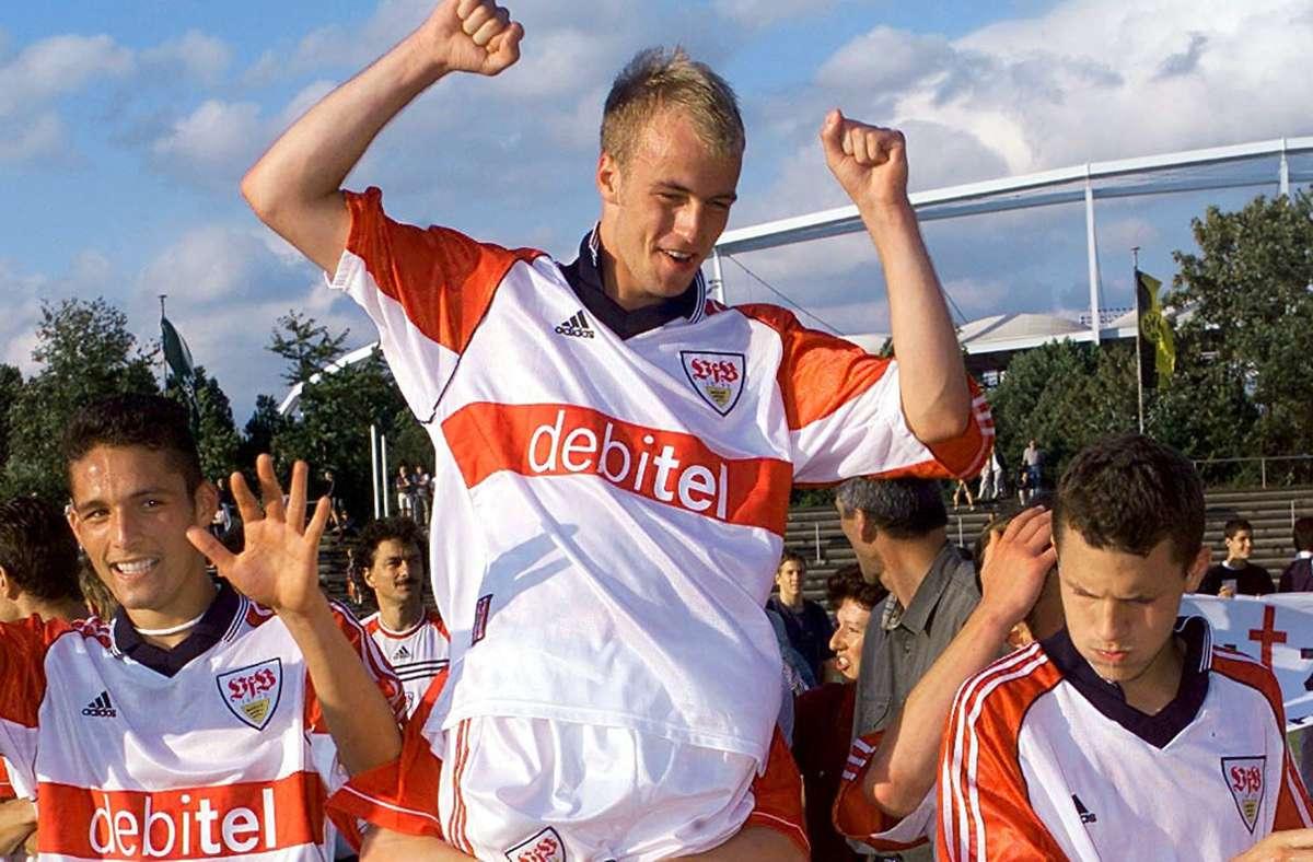 Sebastian Hoeneß als B-Junior im Dress des VfB Stuttgart. Foto: Baumann