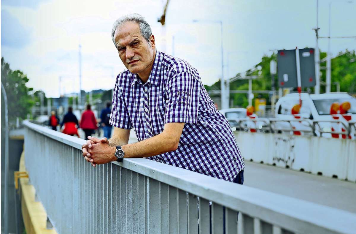 """""""Ich habe von dieser Frau nie etwas in meinem Leben gehabt"""", sagt der  58-jährige Klaus Dörr über seine leibliche Mutter Foto: Lichtgut/Julian Rettig"""
