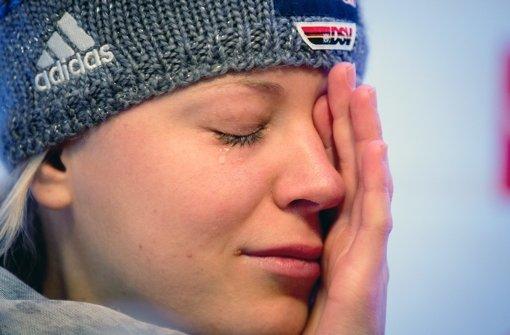 Miriam Gössner fährt nicht nach Sotschi