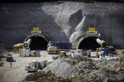 Steinbühltunnel wird offiziell angeschlagen