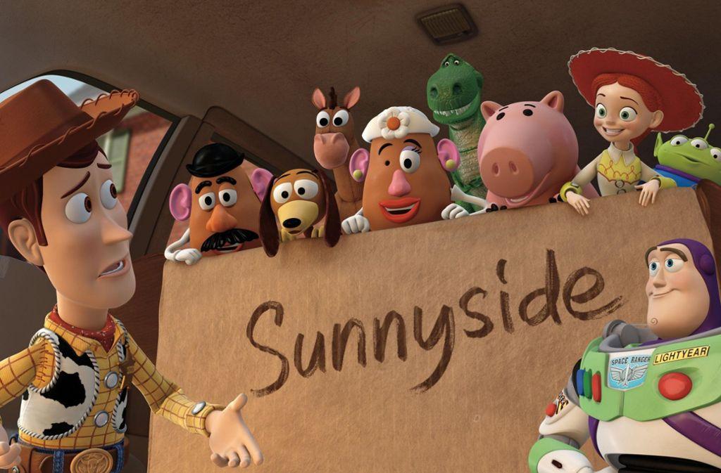"""Der erste Teil der Animationsreihe """"Toy Story"""" kam 1995 in die Kinos. Am 20. Juni erscheint das vierte Abenteuer der Spielzeughelden Woody und Buzz Lightyear. Foto: dpa"""