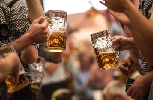 Bier auf dem Wasen wird wieder teurer