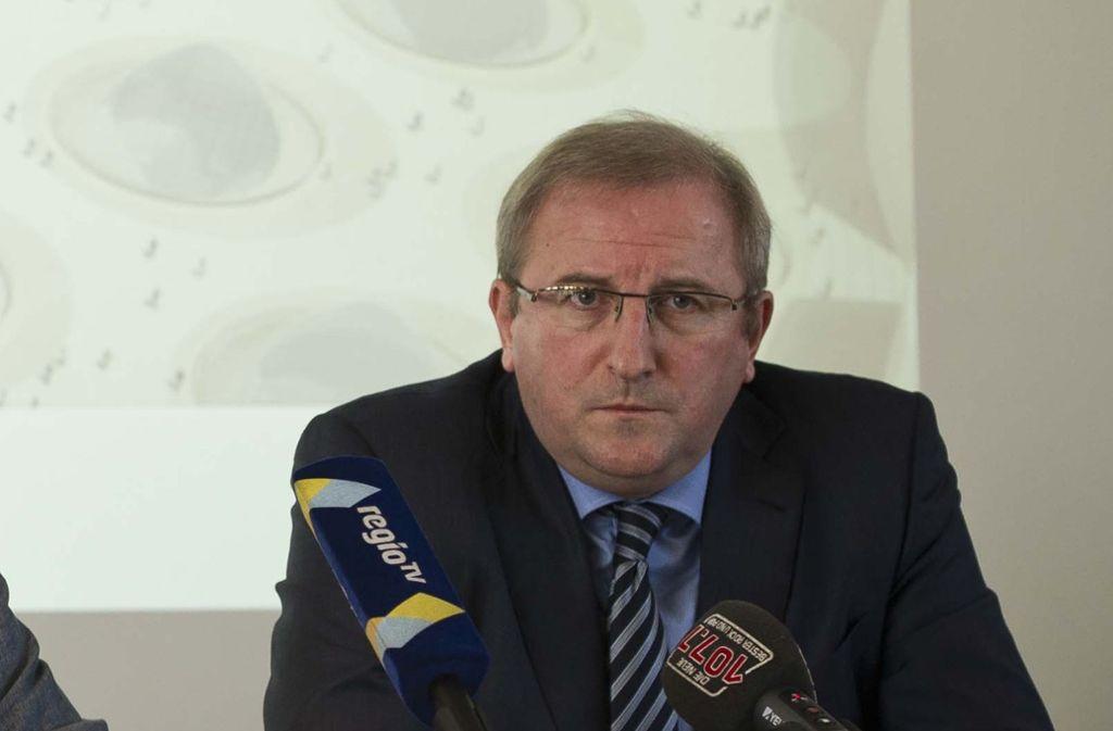 S-21-Geschäftsführer Peter Sturm verlässt die Projektgesellschaft. Foto: Lichtgut/Max Kovalenko