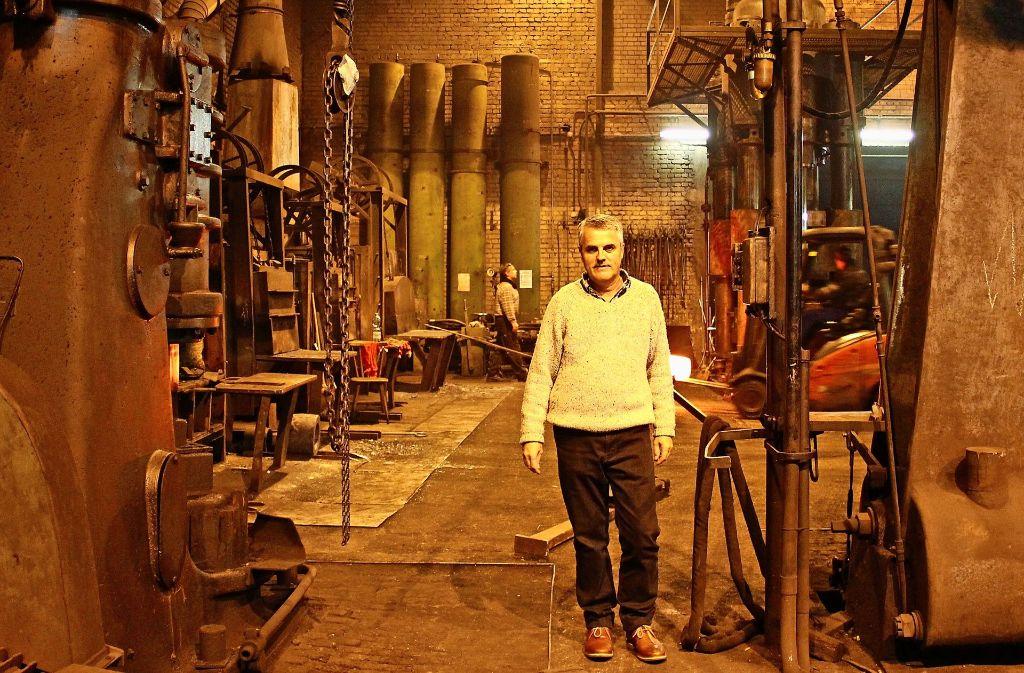 Volker Wimpff führt das Familienunternehmen in fünfter Generation. Foto: Marta Popowska