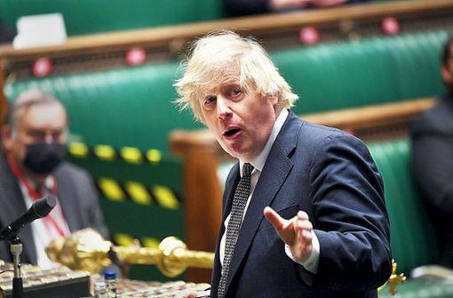 Johnson festigt Basis seiner Partei in England