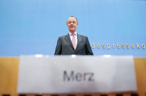 Friedrich Merz will es alleine schaffen