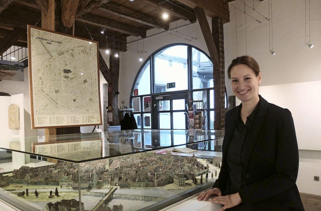 Christiane Sutter ist die neue Leiterin des Stadtmuseums Bad Cannstatt. Foto: Iris Frey