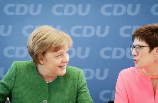 Merkels Kronprinzessin Annegret Kramp-Karrenbauer