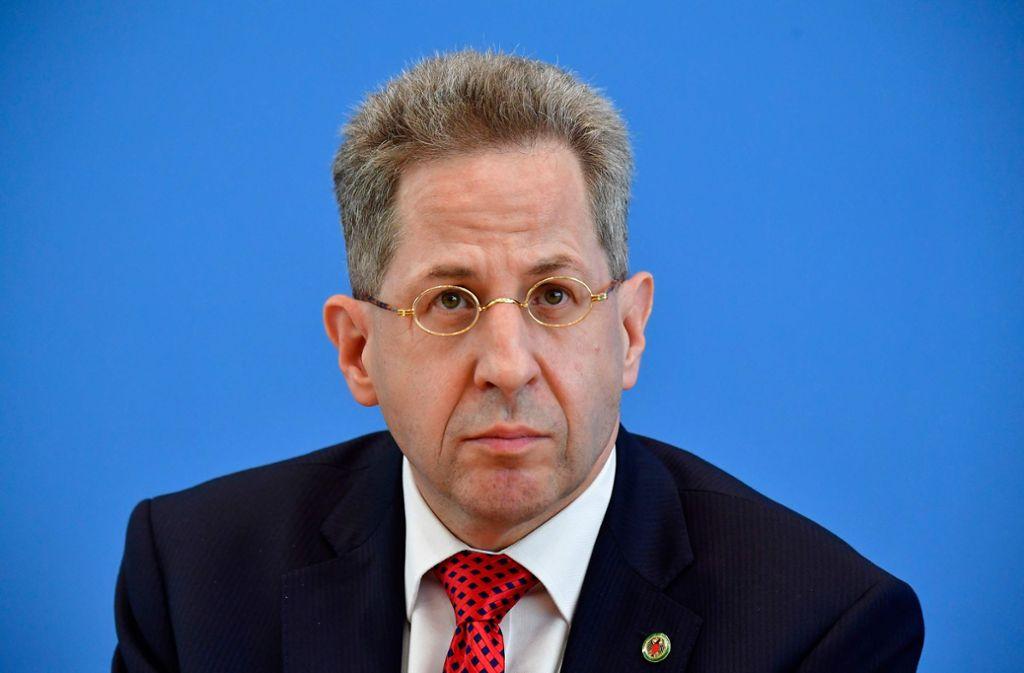 Seit 2012 leitet Hans-Georg Maaßen das Bundesamt für Verfassungsschutz. Foto: AFP