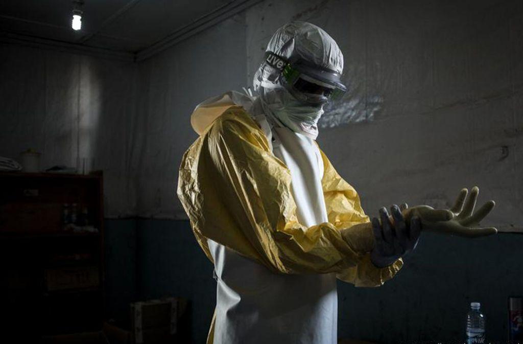 Seit Ende März ist die Zahl der Neuerkrankungen  um fast 50 Prozent in die Höhe geschnellt –  von etwa 1000 auf inzwischen rund 1500^ Foto: Medecins Sans Frontieres/J. Wessels/AP/dpa