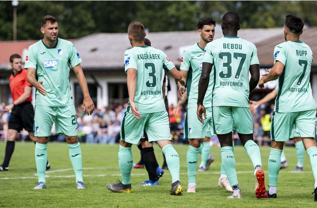 "Die TSG Hoffenheim beteiligt sich an der Initiative ""Sports For Future"". Foto: Bongarts/Getty Images"