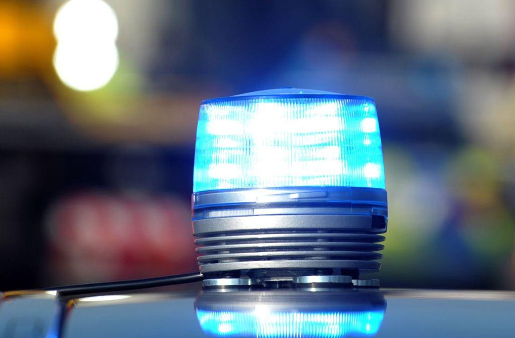 Der Mann wurde von zehn Streifenwagen verfolgt. Foto: dpa
