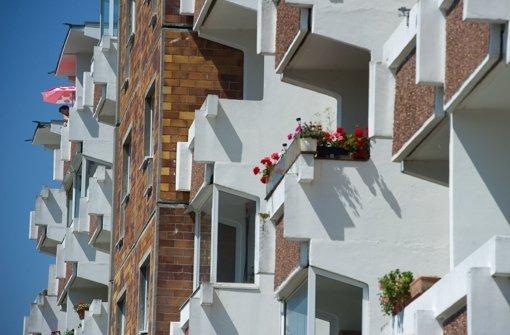 Viele Wohnungen für nicht zu viel Geld, das wünscht sich Finanzminister Schmid. Foto: dpa