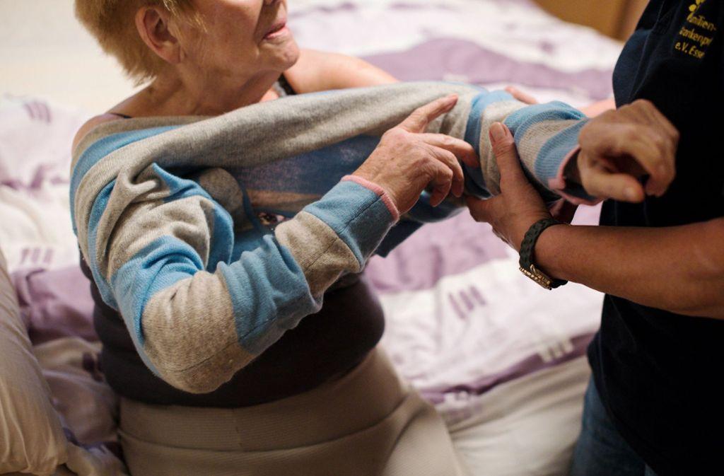Die Pflege durch Familienangehörige ist in Baden-Württemberg weit verbreitet. Foto: dpa