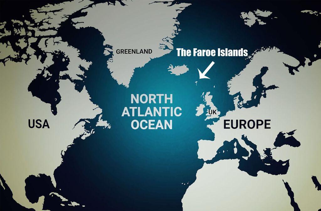 Im Nordatlantik, zwischen den Britischen Inseln, Norwegen und Island, liegen die Färöer Inseln. Foto: Visitfaroeislands.com