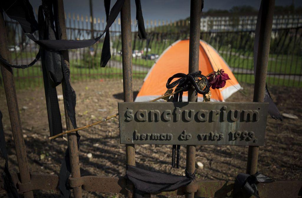 Der traurige Rest der kunstvollen Wildnis am Pragsattel. Foto: Lichtgut/Leif Piechowski