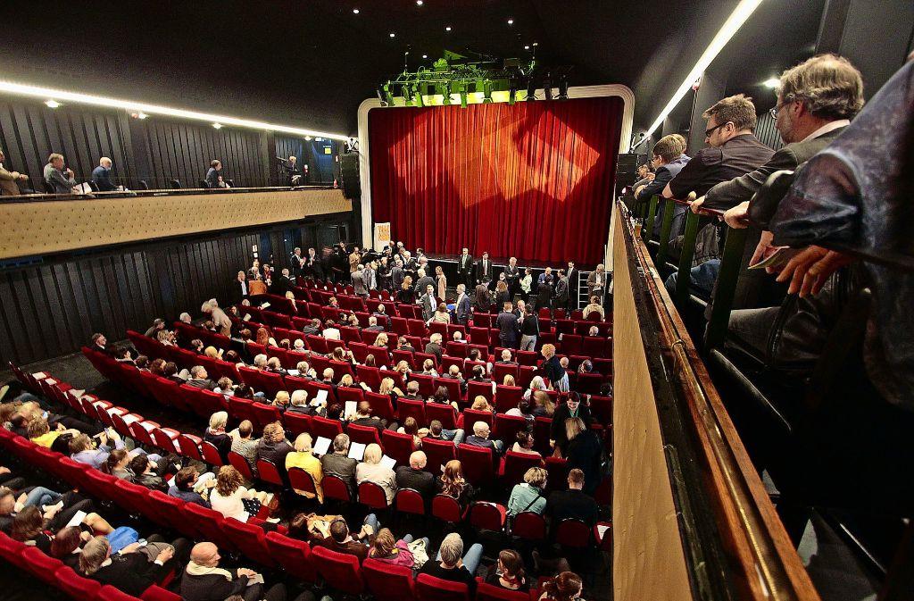 Dem Scala – hier eine Veranstaltung zum 25-Jährigen der Filmakademie – laufen seit der 2014 abgeschlossenen umfassenden Sanierung die Kosten davon Foto: factum/Archiv