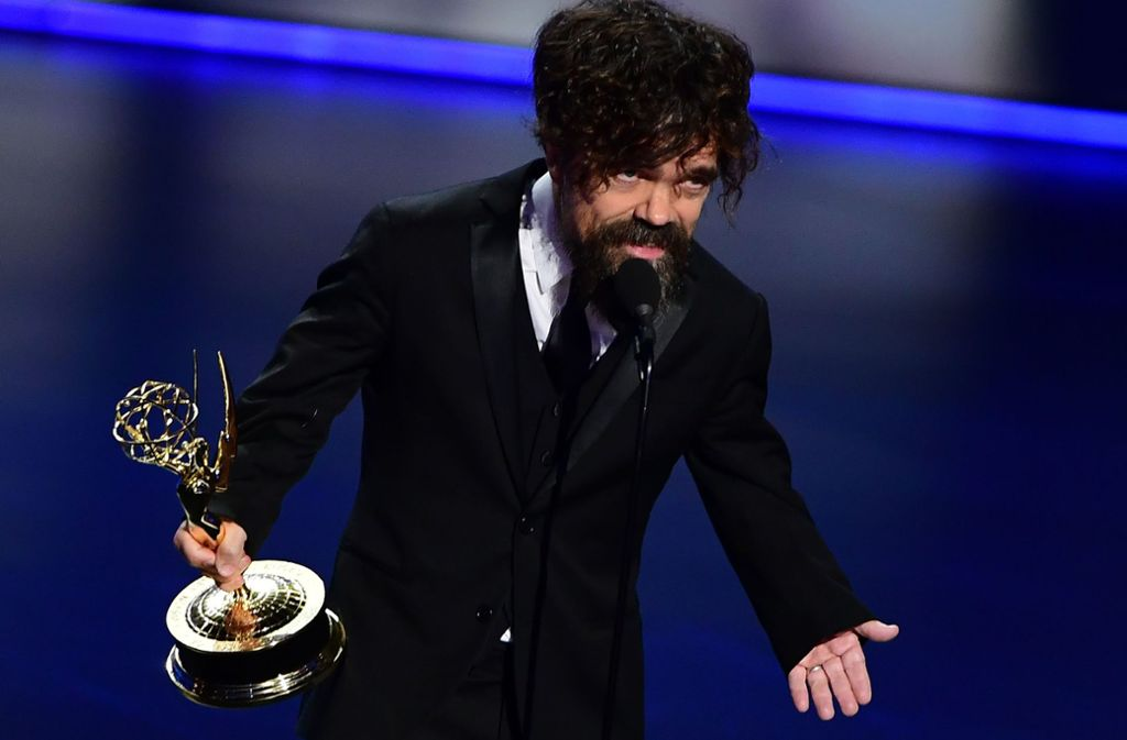 "Bester Nebendarsteller in einer Drama-Serie: Peter Dinklage aus ""Game of Thrones"" Foto: AFP"