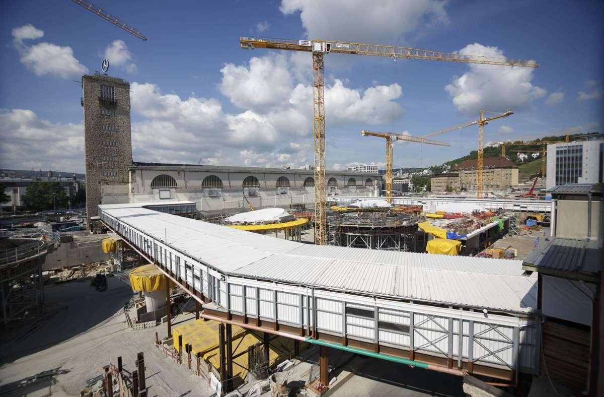 In der Nähe der  S21-Baustelle könnten in Zukunft Wohnungen entstehen. Foto: Julian Rettig/Lichtgut/Julian Rettig