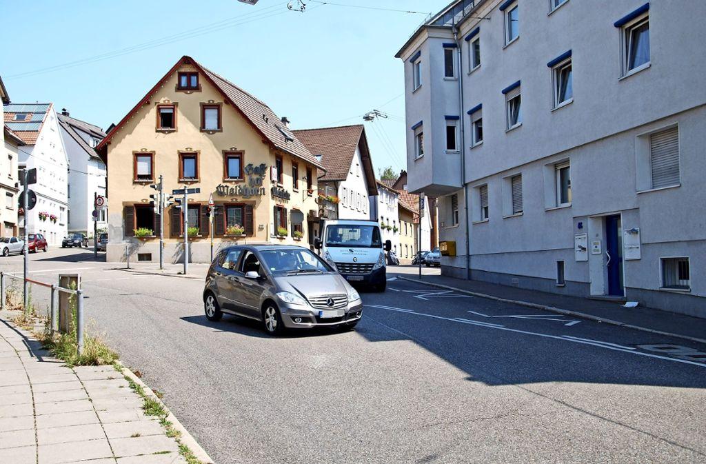 An der Kreuzung Kappelberg-/Großglocknerstraße kommt es zu brenzligen Situationen. 2017 ereigneten sich  sieben Unfälle. Foto: Kuhn