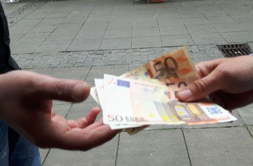 Betrüger auf Spendenjagd
