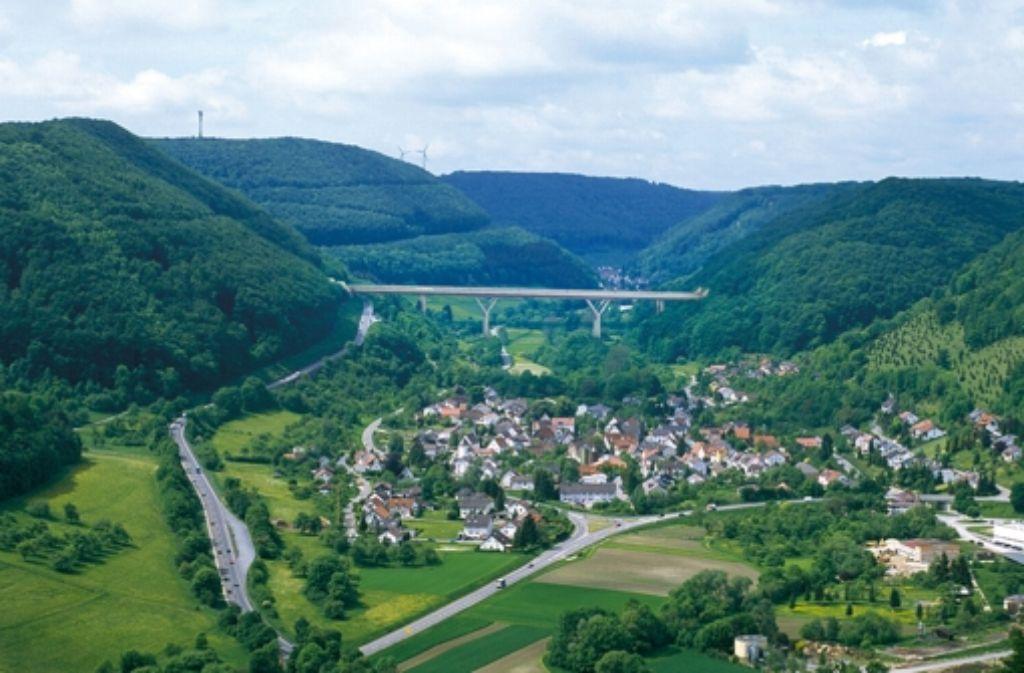 Der Bau der umstrittenen Brücke über das Filstal wird fünf Jahre dauern. Foto: DB