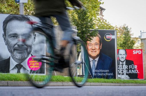 So war der Bundestagswahlkampf 2021