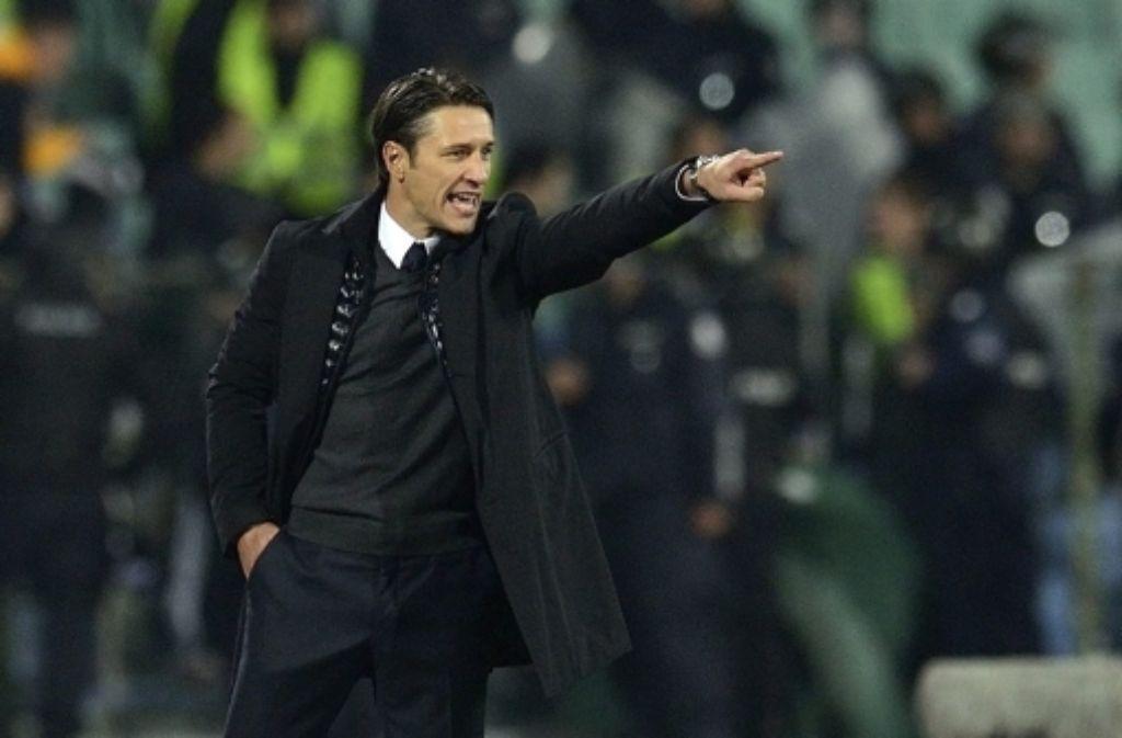 Niko Kovac als Trainer der kroatischen Nationalmannschaft. Foto: dpa