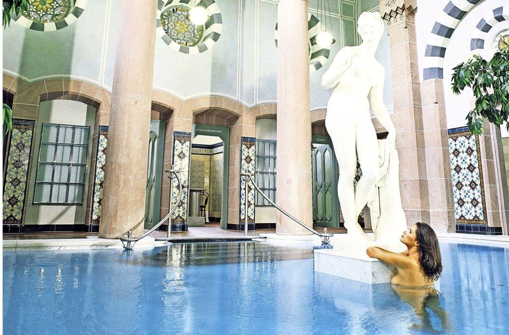Das Palais Thermal in Bad Wildbad zieht durch sein historisches Ambiente viele Besucher an. Foto: dpa