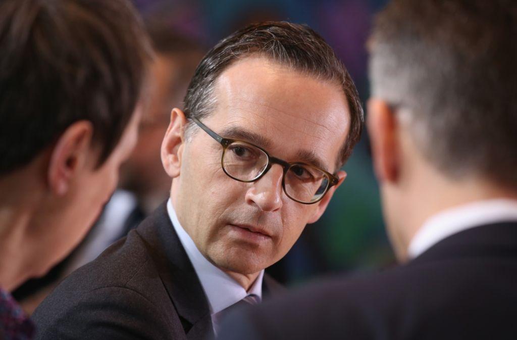 Bundesjustizminister Heiko Maas will nach den Enthüllungen durch die Panama Papers mehr Transparenz. (Archivfoto) Foto: Getty Images