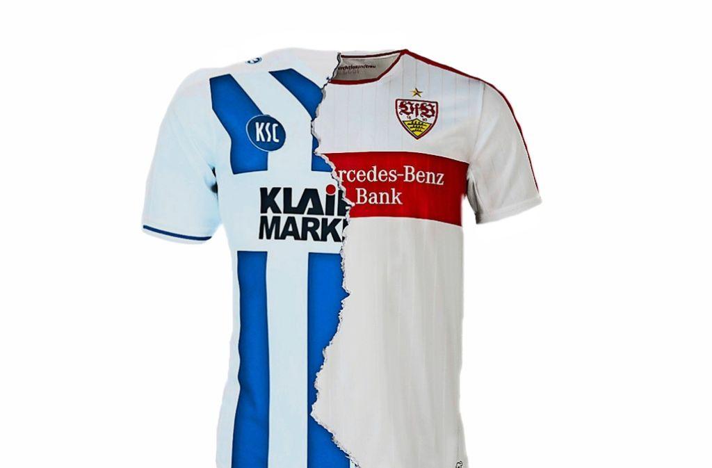 Zahlreiche Spieler von VfB und KSC haben schon das Trikot beider Mannschaften getragen Foto: StZN
