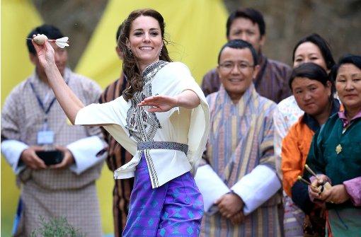 Kate in indischer Farbenpracht