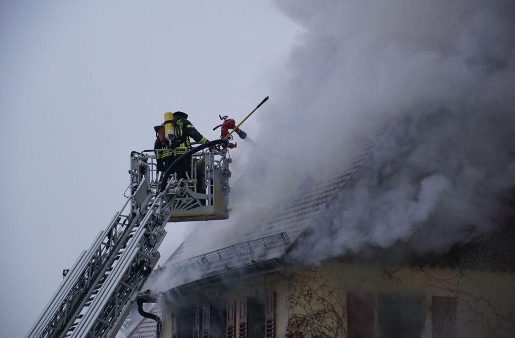 26 Stunden dauerte der Einsatz der Freiwilligen Feuerwehr. Foto: SDMG/SDMG / Hemmann