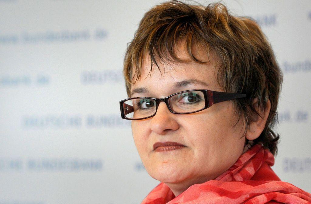 Die deutsche EZB-Direktorin Sabine Lautenschläger hört Ende Oktober auf. Foto: dpa/Marc Tirl
