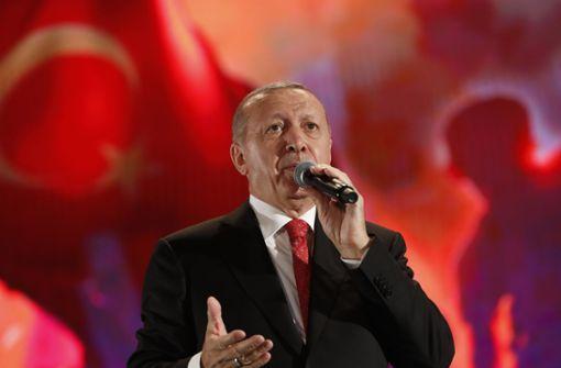 Türkei lässt die Muskeln spielen