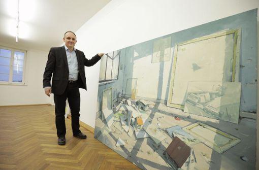 Blick in die Städtische Kunstsammlung