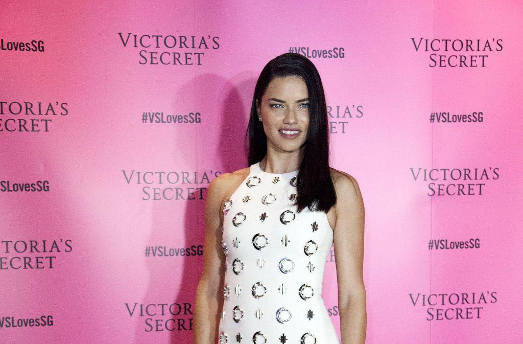 Adriana Lima, das Topmodel von Victoria's Secret. Foto: Getty Images AsiaPac